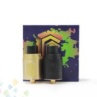Wholesale E Cigarette Rebuildable Atomizer - Best Reload 24 RDA Rebuildable Dripping Atomizers 4 POST 2 Colors PEEK Insulator fit 510 E Cigarette Mods DHL Free
