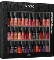 nyx lèvres achat en gros de-NYX SOFT MATTE LIP CREAM 36PCS NYX Rouge À Lèvres Brillant À Lèvres Mat No Fading Soft Velvet Lèvres Maquillage 36 couleurs ensemble