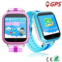 Wholesale Android Agps - Children Bluetooth Q100 Q750 Smartwatch With WiFi GPS AGPS LBS BDS for iPhone IOS Android Smart Phone Wear Clock Wearable Device Smart Watch