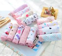 Wholesale Wholesale Underwear Discount - special discount offer multi-color fabric coton children underwear girl lace panties 12pcs bag age 2~10