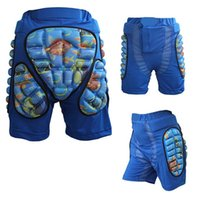 Wholesale roller s - Wholesale- Newest Child Skiing Safety Protective Sports Racing Motorcycle Snowboard Skating Roller Armor pad Shorts Hip Protector