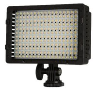 CN-216 216PCS LED Dimmable Ultra High Power Panel Appareil photo numérique / Caméscope Vidéo Light, LED Light pour Canon, Nikon, Pentax, Panasonic