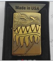 briquets tigre électronique achat en gros de-Briquet au kérosène coupe-vent en métal
