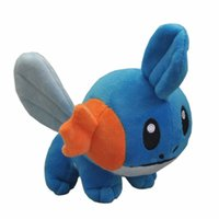 Wholesale mudkip plush doll resale online - Hot New quot CM Mudkip Plush Doll Anime Collectible Soft Dolls Best Gifts Party Stuffed Toys