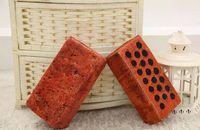Wholesale Video Games Simulation - 2016 New Cotton Core Simulation Brick Pillow Log Pillow Batten Creative Plush Toys Children's Game High-elastic