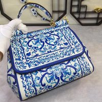 Wholesale Hand Bag Printed - Star with a color printing bag Fashion Shoulder Hand Bag Leather Ladies really cross