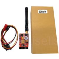 Wholesale Ts351 Transmitter - Hot 5.8G 200MW 8CH Video AV Audio Video TS351 Transmitter Sender FPV 2.0Km Range Car Video Wifi Rearview System for Aircraft