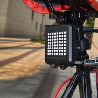 Wholesale Intelligent Bike Laser - Cycling mountain bike intelligent laser tail lights Turn signal brake lights Riding bicycle accessories equipment