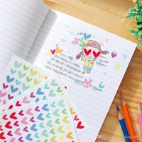 Wholesale Scrapbooking Dots - 6 sheets lot Colorful Stickers Scrapbooking Toy for Children Kids DIY Design Exercise Book, Hearts Five-Pointed Stars Round Dots