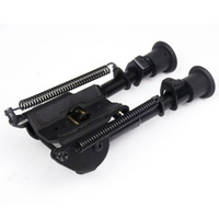 Wholesale shot target - 6-9 inch Harris Style mounting bipod Adjustable height extendable legs Hinged base for Benchrest tactical target shooting bi-pod