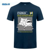 Wholesale Print Design Services - Short Sleeve Thanksgiving Day Custom Red Dwarf Starbug Service And Repair Manual Tee Shirts Photo Family 3XL Design For Tshirt