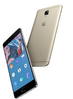 """Wholesale Gps Box Packing - OnePlus 3 A3000 64GB Graphite, 5.5"""", Dual Sim, GSM Unlocked US Version, No Warranty grey and gold(Stand-alone sale without packing box)"""