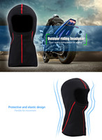 À prova de vento SALETU respirável Outdoor Riding Headgear Proteção de vento Motocicleta Motociclismo Ciclismo Proteger Full Face Mask Neck Guard 201686401