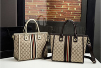 Wholesale Two Color Pattern - 2017. New pattern. Vogue. Women's Bags. Canvas. Handbag. Big. Tote bag. Cross Body.Shoulder Bags.Totes. lady. Mom.Fashion casual bag.