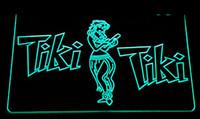 Wholesale Hula Led - LS162-g Tiki Bar Wajome Hula Dancer Neon Light Sign Decor Free Shipping Dropshipping Wholesale 6 colors to choose