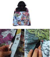 casacos para casacos plus size women venda por atacado-19ss roupas de marca plus-size XXXL Mapa Jaqueta Jaquetas refletivas casacos homens mulheres moda Casaco Blusão Casaco com capuz bordado outerwear