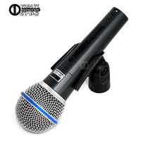 Wholesale Professional Vocal Microphone - Upgraded Version BETA58A Switch Wired Microphone Professional Microfono Supercardioid Dynamic Karaoke Mic Vocal Beta58 Mixer Mike Microfone