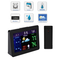 Wholesale Wireless Digital LCD Display Thermometer Indoor Outdoor Temperature Sensor Weather Station HS849