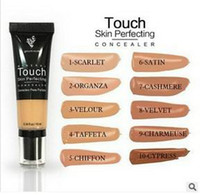 Wholesale Bb Cream Perfect - Younique Touch Foundation Concealer Cream Moodstruck Opulence Skin Perfecting BB Cream 10 color 10ml DHL Free Shipping