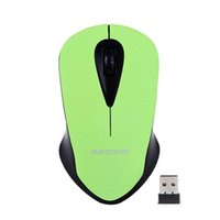 Wholesale Desktop Computer Home Pc - USB Optocal Wireless Mouse 2.4G Receiver Computer Mouse Gaming Mouse Mamer Mice 3 buttons For Office Home Laptop Desktop PC