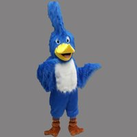 Wholesale Bird Fancy Dress - Blue Jay Bird Mascot Costume Fancy Birthday Party Dress Halloween Carnivals Costumes With High Quality Free Shipping