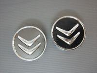 Wholesale Wheel Center Caps Citroen - Car Styling 60mm Car Wheel Center Hub Caps for Citroen C2 C3 C4 Picasso C4l C5 DS4 Color Grey Black