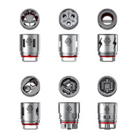 Wholesale King Baby Wholesale - Smok TFV12 Coil Head V12-T12 V12-Q4 V12-X4 Duodenary Sextuple Quadruple Coils For Clone TFV12 Cloud Beast King Tank Tfv8 Baby Vapor Mods