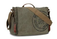 organic coffee sale - Hot Sale Veevan vintage men messenger bags canvas shoulder bag men business bag printing travel bag