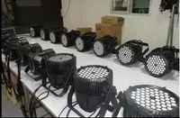 Wholesale Rgba Par - 8pcs 18X10W stage lights par light mute IP65 outdoor RGBW RGBA four color 4in1 LED Par64 light free shipping best selling