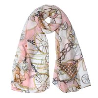 Wholesale Ladies Magic Scarves - Wholesale-JECKSION Magic Scarf Women Lady Chain Scarf Scarves Sun Protection Gauze Kerchief