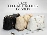 Wholesale Lace Cell Phone - Lace fashion bag women's handbag portable women's cross-body bag