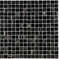 Wholesale Modern Style Interior - Ink black mosaic tiles, Golden line glass tiles, hot sell kitchen backsplash mosaic, modern style glass wall tiles flooring tiles, TCRR031