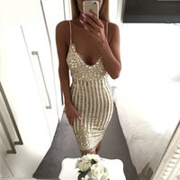 Weihnachten pailletten backless dress 2017 sexy frauen nacht party club kleider strap verband dress schlank clubwear bodycon dress