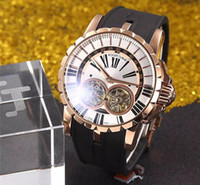 dropshipping mens gold watch straps uk uk delivery on mens factory new luxury brand 18k grand rose gold complication double tourbillon retrograde 48mm limited guilloche mens watch rubber strap dropshipping uk
