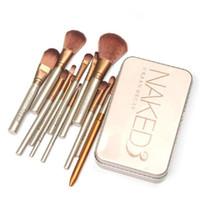Wholesale Bamboo Blush Brush - Makeup Brushes Set - Professional Bamboo Handle Kabuki Makeup Brush Foundation Blending Blush Powder Brush Cosmetics Brushes Set with Box