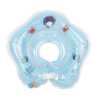 bagues flottantes flottantes achat en gros de-Anneau gonflable de sécurité d'anneau de cou de natation de cou de natation de bébé de bébé de PVC 4 couleurs Accessoires de piscine