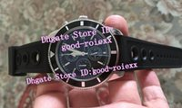 Wholesale Luxury Watches Chrono - Factory Seller Mens Chronograph Japan Vk Quartz Watch Men's Black Dial Watches Men Dive Calendar Wristwatches Sport Chrono Classic Stopwatch