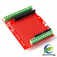 Wholesale Arduino Proto Shield - Free shipping 2pcs Proto Screw Shield Assembled Prototype Terminal Expansion Board For Arduino