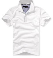 Wholesale turndown collar - New Arrive solid Turndown collar Brand 2017 Shirt Men Short Sleeve Casual Shirts Man's Shirt Plus size 6XL Polo 20color #930