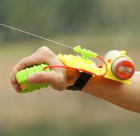 Wholesale Toy Model Houses - Summer Beach Outdoor Toys Sand Play Wrist Water Gun Children Water Fun Guns Far Range Summer Swimming Toys Model Toys #SQ