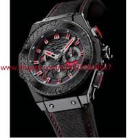 Wholesale 48mm Quartz - 2016 Men's style Top Quality Classic Series Brand New King Power F1 Black Ceramic 48mm Mens Quartz Watches Sport Wrist box