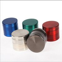 40mm SharpStone Tabaco Grinders Alloy Herb Grinder Herbal 4 Layer Grinder Spice Crusher Máquina de cigarro Ímã Strainer Inside