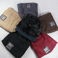 Wholesale Korea Fashion Street Wholesale - Mens hat Knitted Beanies Winter warm velvet NC solid Beanie boy fashion street Hats Korea FREE express SHIPPING 7colors Cheap wholesale 2016