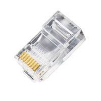 Wholesale rj45 modular - Wholesale- 10Pieces 8P8C RJ45 Modular Plug for Network CAT5 LAN #647