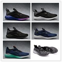 Wholesale Alpha Leather - 2017 Originals Men Alpha Bounce Boost 330 Sports Running Shoes Women Alphabounce Sneakers Size US36-45 Free shipping
