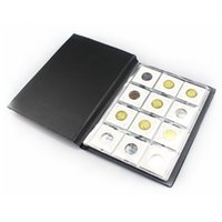 Wholesale New Style Square Paper Holder Coin Normal Album Packing Grids Coin Good Drop Shipping