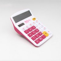 Wholesale General Power Supply - Wholesale Hot Solar Energy Calculator Fashion Office Calculate Business Solar Power Portable Calculator For Office Student Free Shipping