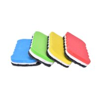 Grossiste-4PCS Cute Erasers Whiteboard Blackboard Dry Wipe Marker Cleaner Dessin Eraser Eraser Office School Erase Papeterie Fournitures