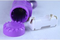 Wholesale Tender Lover Vibrator - Purple Tender Lover Adult Toy Sex Toy Masturbate Thrusting Dildo G-Spot Vibrate Vibrator Massager Multispeed for Women Free Shipping