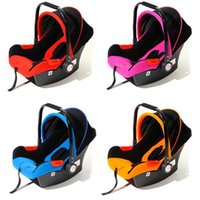 Wholesale Newborn Car Seat Safety - Wholesale-Free Ship Brand New Safe Neonatal Basket-Style Car Seat Infants Handle Basket Seat Newborn Babies Car Safety Seats Free Shipping